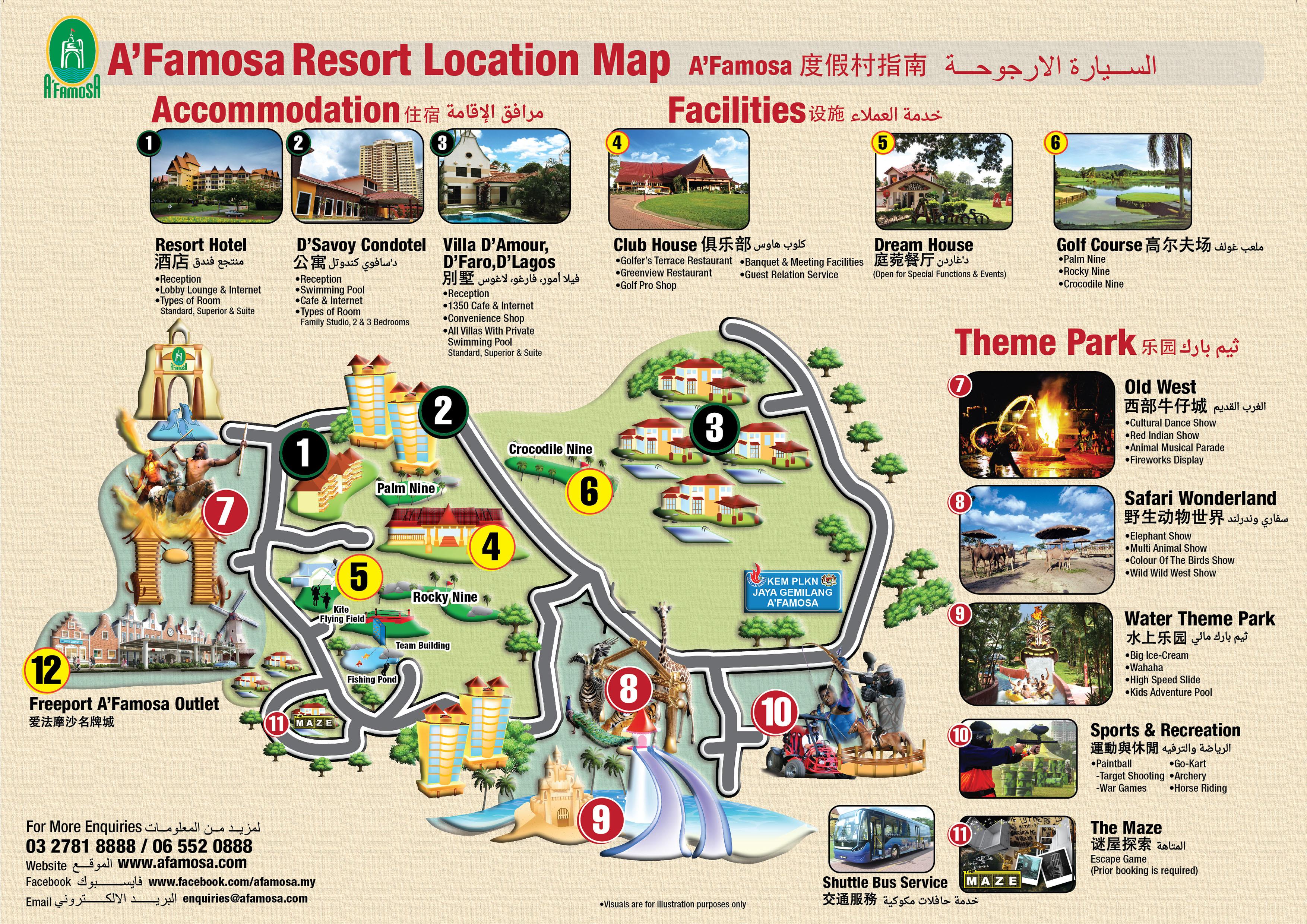 a famosa resort Now $51 (was $̶9̶5̶) on tripadvisor: a'famosa resort hotel melaka, melaka  see 489 traveler reviews, 1016 candid photos, and great deals for a'famosa.